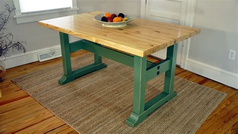 how to build a trestle table how to build a trestle table plans available