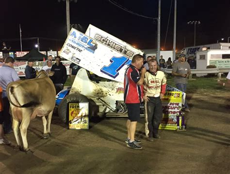 Sandusky County Search Weaver Wins Sandusky County Fair Event At Fremont Speedway Tjslideways