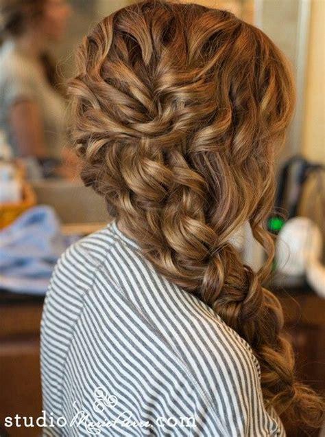 Wedding Hair Side Braid by Chunky Side Braid Wedding Hair Hair