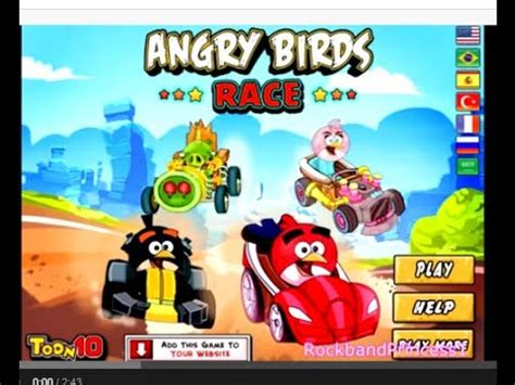 Angry Birds Auto by Angry Birds Videos Angry Birds Car Racing Game Youtube