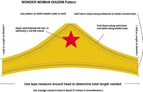 wonder woman cuff and tiara patterns halloween pinterest