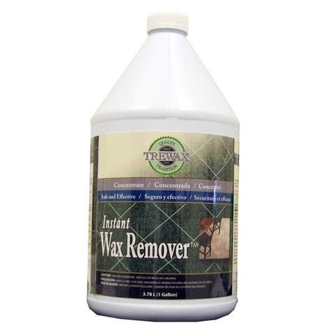 Floor Wax Remover Products upc 087052719692 trewax cleaning products 1 gal instant wax remover 887071969 upcitemdb