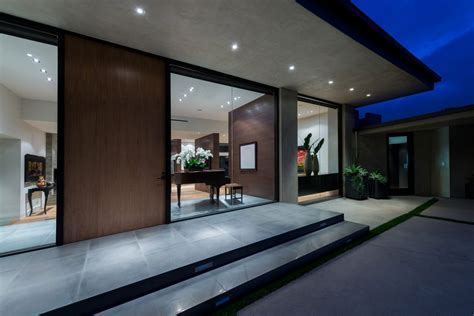 home inside entrance design modern beverly hills home with gorgeous views form frame