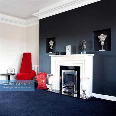black feature wall living room gap interiors modern living room with black feature wall image no 0060527 photo by