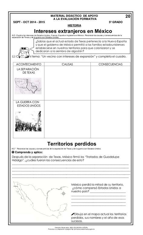 historia quinto grado 2014 2015 libro de texto pdf historia de mxico quinto grado temario guia de examen