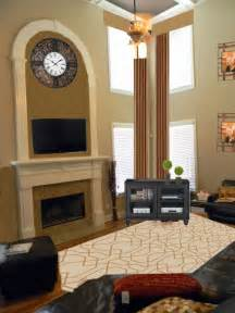 2 story great room another two story great room makeover