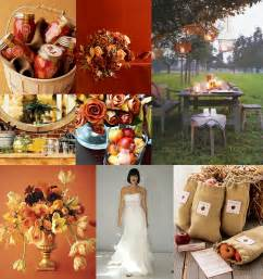 fall wedding decorations ideas fall wedding flowers cherry