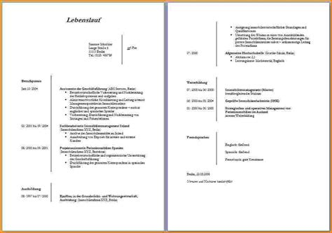 Lebenslauf Muster Wordpad 8 Lebenslauf Word Reimbursement Format