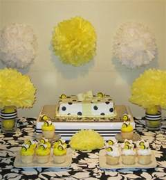 simplyiced details bumble bee baby shower