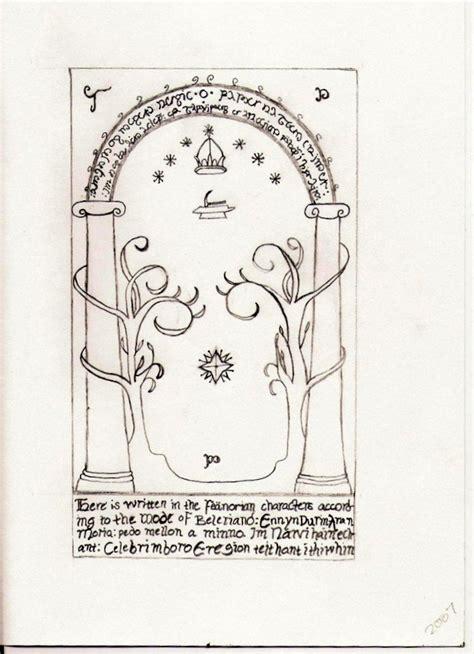 doors of durin by sarahlovesunderoath on deviantart