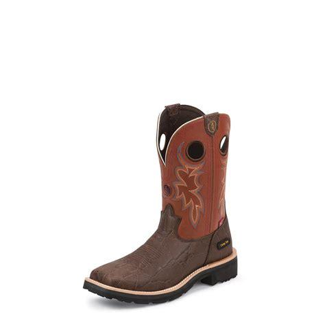 tony lama work boots tony lama walnut elephant 3r work boots composite toe 11