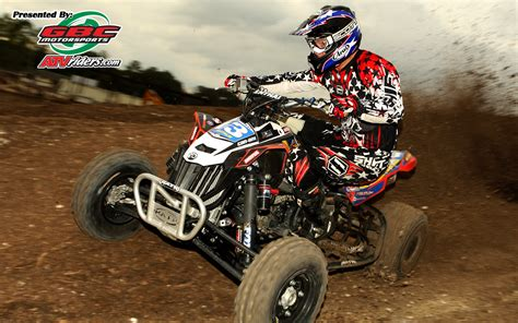 pro female motocross riders ama atv motocross pro racer john natalie can am ds450