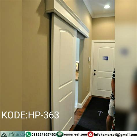 Hp Pintu pintu sliding klasik putih hp 363 harga pintu harga pintu