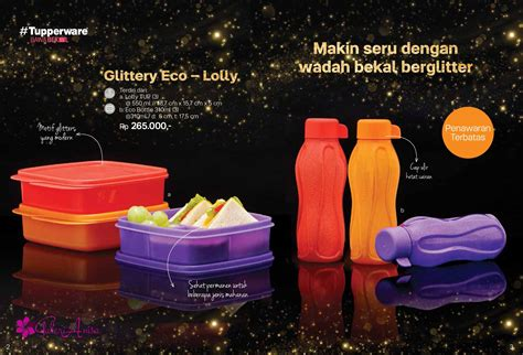 Tupperware Lolly Gliter tupperware promo april 2017 katalog promo tupperware 2017