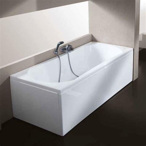 vasche incassate vasca con pannello 70 x 105 120 140 150 160 170 180 cm in