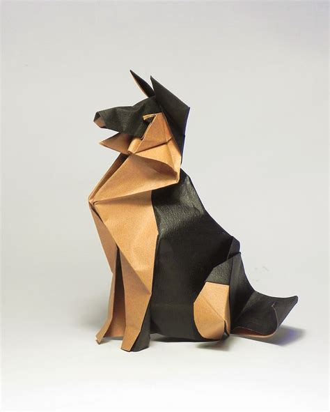 Origami German - german shepherd by origami december 2016 origami