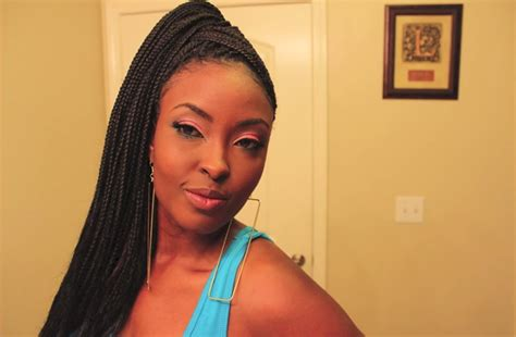 simple and cute ways to style braids 2 cute easy ways to style box braids