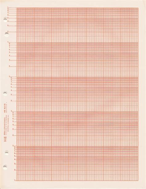 Paper Log - semi logarithmic graph paper k e 46 6213 5 cycle x 70