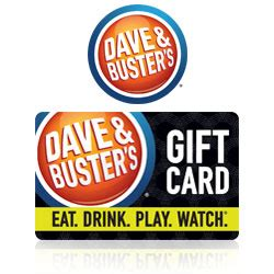 Dave And Busters Gift Card Locations - buy dave buster s 174 gift cards at giftcertificates com