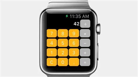 Calculator On Apple Watch | calculator for apple watch youtube