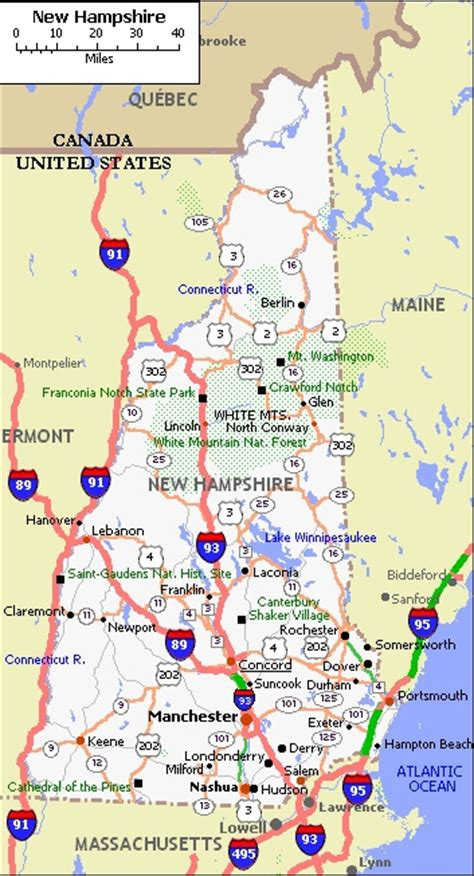 us map states new hshire new hshire city map