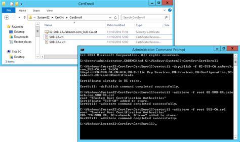 microsoft windows server  pki  certificate security