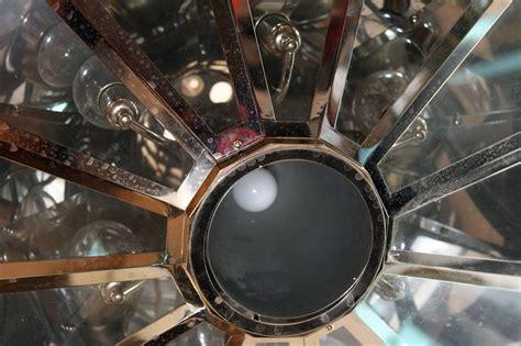 Spaceship Light Fixture 1950s Mid Century Modern Spaceship Light Fixture With Detailing At 1stdibs