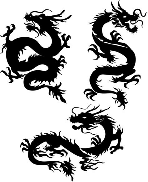 dragon tattoo vector free dragons free vector in adobe illustrator ai ai