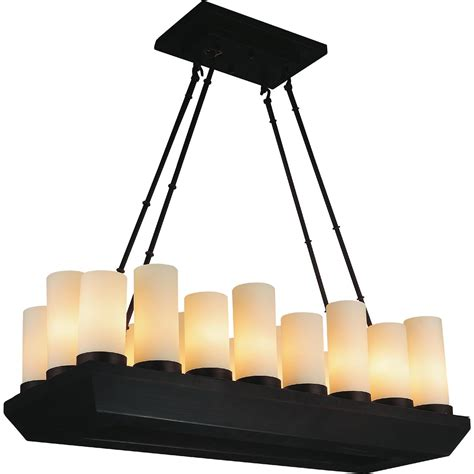 Rectangular Lantern Chandelier Brizzo Lighting Stores 33 Quot Lantern Contemporary Rubbed Brown Iron Rectangular Chandelier 18 Lights