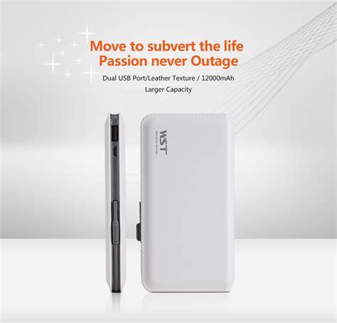 Snooy Slim Power Bank 2 Port 12000mah 1 factory wholesale portable charger power bank 12000mah ultra slim dual usb ports external