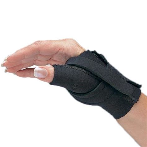 comfort cool thumb spica splint comfort cool thumb cmc restriction black splint thumb