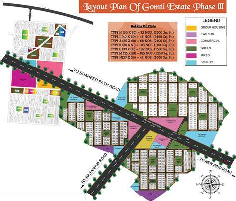 layout plan of surya nagar phase iii 3000 sq ft plot for sale in shree raj infra gomti estate