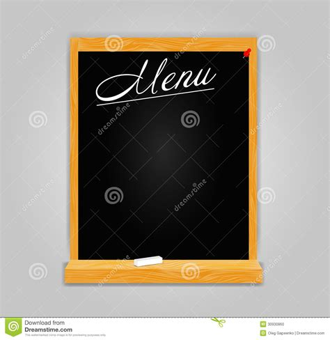 menu design eps file restaurant menu template in retro style vector stock photo