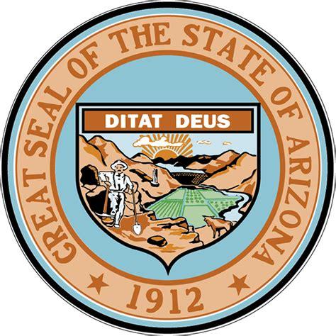 State Of Arizona Records The Great Seal Of Arizona Arizona Of State