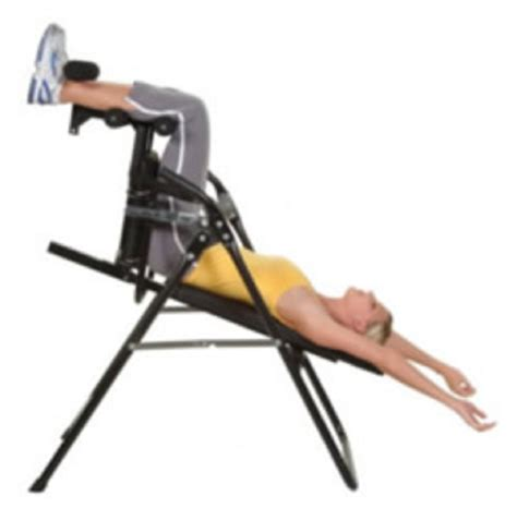 inversion table exercises for back inversion chair for exercise therapy and chiropractic