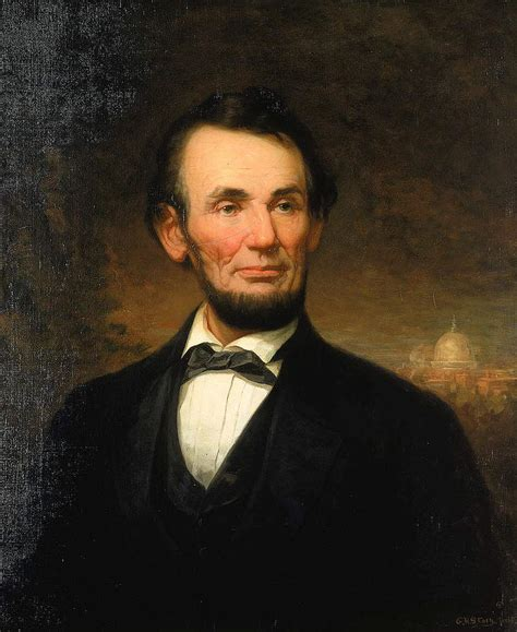 abraham lincoln profession president abraham lincoln painting by motionage designs