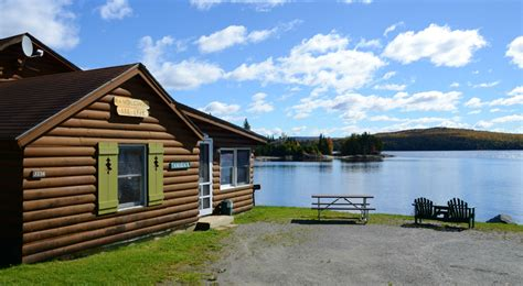 Cottages For Rent In Ct by Log Cabins On Connecticut Lake