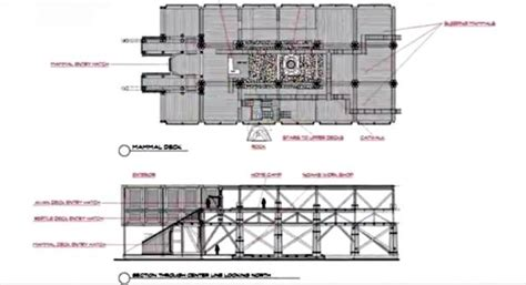 ark blueprint list here s the floor plan for noah s ark according to