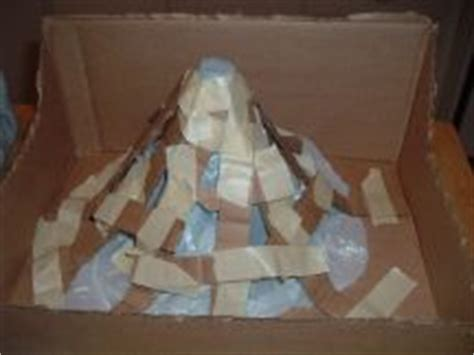 How To Make A Paper Mache Volcano Step By Step - make a volcano project how things work