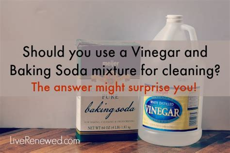 Baking Soda And Vinegar Cleaning Bathtub by Is A Vinegar And Baking Soda Mixture Effective For Cleaning