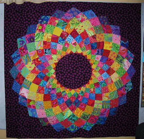 free dahlia pattern and follow along