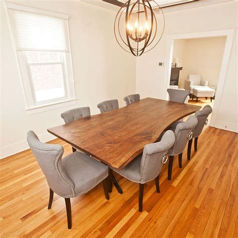 live edge dining room table 25 best ideas about live edge table on wood