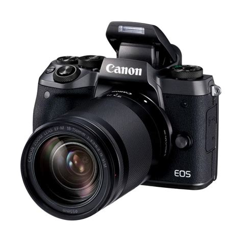 Kamera Canon Mirrorless M5 jual canon eos m5 kit 18 150mm kamera mirrorless