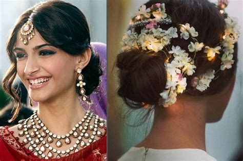 hairstyles for saree bun top best indian hairstyle for saree