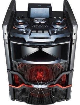 lg om portable  boom black wireless bluetooth audio