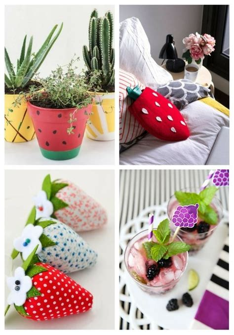 37 diy fruit home decor ideas comfydwelling