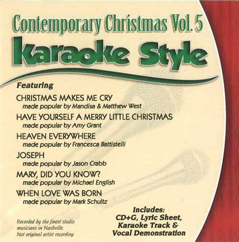 a merry madaris series volume 21 daywind karaoke style cdg 4997 contemporary