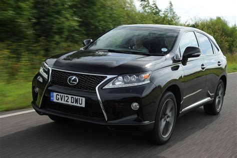 4x4 lexus lexus rx 4x4 review 2012 2015 auto express