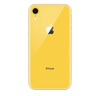 apple iphone xr 64gb yellow sprint decluttr store