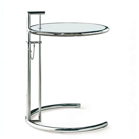 eileen gray coffee table eileen gray bijzettafel e1027 chroom design bijzettafel